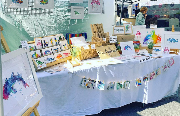 Markets Debut for Caz Creations!